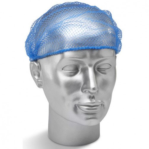 Hairnets Blue x 144