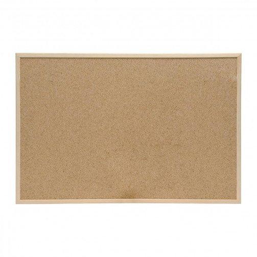 5 Star Eco Cork Board Wdn Frame 600x400