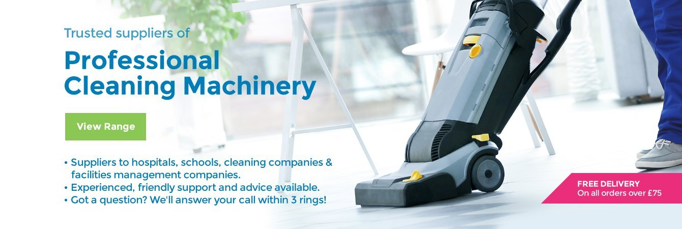 Trusted suppliers of Professional Cleaning Machinery