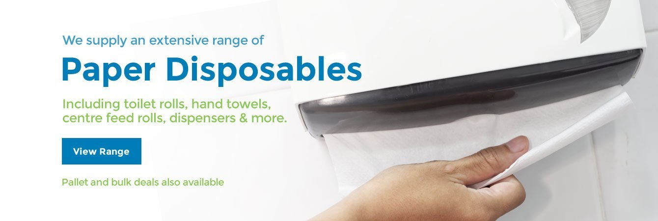 We have extensive range of Paper Disposables