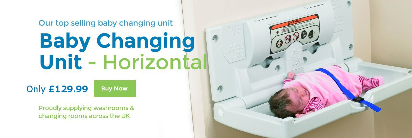 Our top-selling baby-change unit